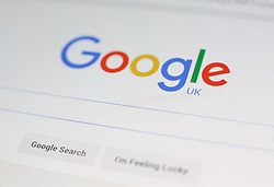 """File photo dated 27/01/16 of a Google logo, as the technology giant's parent company Alphabet hailed a """"terrific start"""" to 2017 as the technology giant reported better-than-expected financial results."""