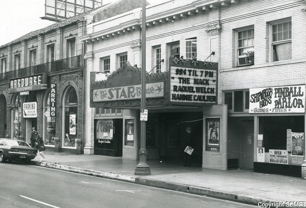1973 Star Theater on Hollywood Blvd. near Western Ave.