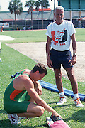1994 Miami Hurricanes Track & Field<br /> <br /> Caneshooter Archive Scan