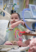 Lucy Shannon, 4 of Lombard recently received a heart transplant at Ann & Robert H. Lurie Children's Hospital on Thursday, May 10, 2018.