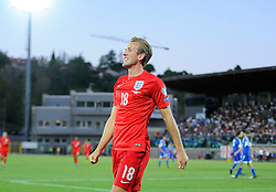 Harry Kane of England (Tottenham Hotspur) celebrates his goal  - Mandatory byline: Joe Meredith/JMP - 07966386802 - 05/09/2015 - FOOTBALL- INTERNATIONAL - San Marino Stadium - Serravalle - San Marino v England - UEFA EURO Qualifers Group Stage