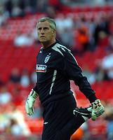 Photo: Tony Oudot.<br /> England v Brazil. International Friendly. 01/06/2007.<br /> Ray Clemence of England