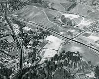 1949 Aerial view of Selig Zoo Studios
