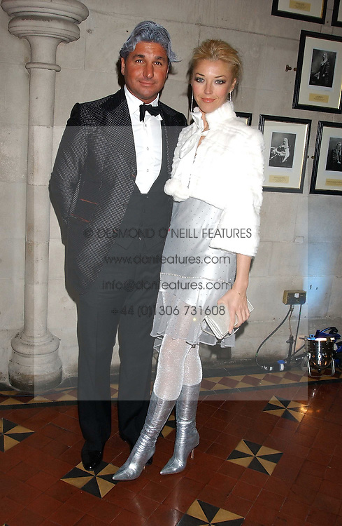 MISS TAMARA BECKWITH and MR GEORGE VERONI at Andy & Patti Wong's annual Chinese New Year party, this year celebrating the year of the dog held at The Royal Courts of Justice, The Strand, London WC2 on 28th January 2006.<br /><br />NON EXCLUSIVE - WORLD RIGHTS