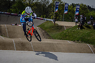 #29 (RENCUREL Jeremy) FRA at the 2016 UCI BMX Supercross World Cup in Papendal, The Netherlands.