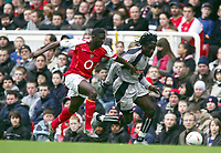 Fotball<br /> FA-cup 2005<br /> 3. runde<br /> Arsenal v Stoke City<br /> 9. januar 2005<br /> Foto: Digitalsport<br /> NORWAY ONLY<br /> Ade Akinbiyi (Stoke) Kolo Toure (Arsenal)