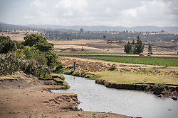 26 January 2019, Ethiopia: In Adaba district, Ethiopia, an old irrigation and soil conservation site built by the Lutheran World Federation in the 1970s remains an important resource for people in the area.