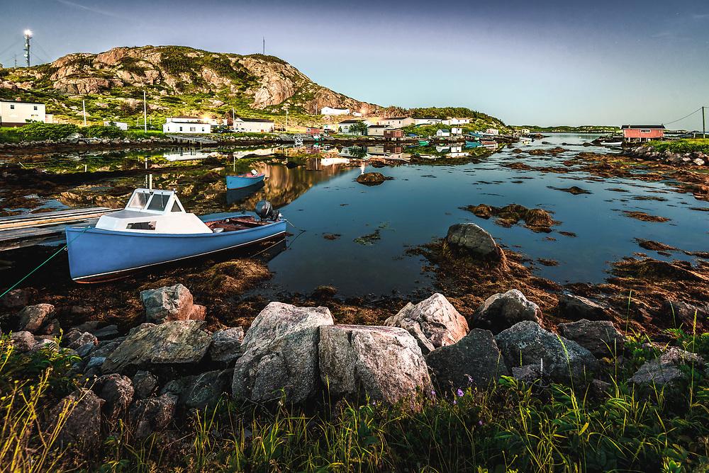 Muddy Harbour at Ramea, Newfoundland and Labrador