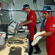 Domino's Pizza Havenstraat 12 Hilversum ext & int, pizza bakker
