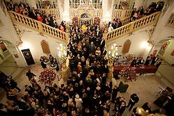 28.01.2012, Graz, AUT, Opernredoute, im Bild Andrang auf der Feststiege, EXPA Pictures © 2012, PhotoCredit: EXPA/ Erwin Scheriau