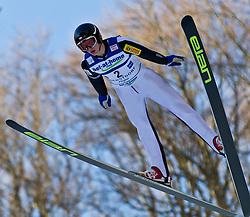 05.02.2011, Heini Klopfer Skiflugschanze, Oberstdorf, GER, FIS World Cup, Ski Jumping, Probedurchgang, im Bild Tomasz Byrt (POL) , during ski jump at the ski jumping world cup Trail round in Oberstdorf, Germany on 05/02/2011, EXPA Pictures © 2011, PhotoCredit: EXPA/ P. Rinderer