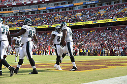 Sep. 10, 2017; Landover, MD, The Philadelphia Eagles against the Washington Redskins at FedEx Field Field. The Eagles won the game 30-17. (Photo by John Geliebter/Philadelphia Eagles)
