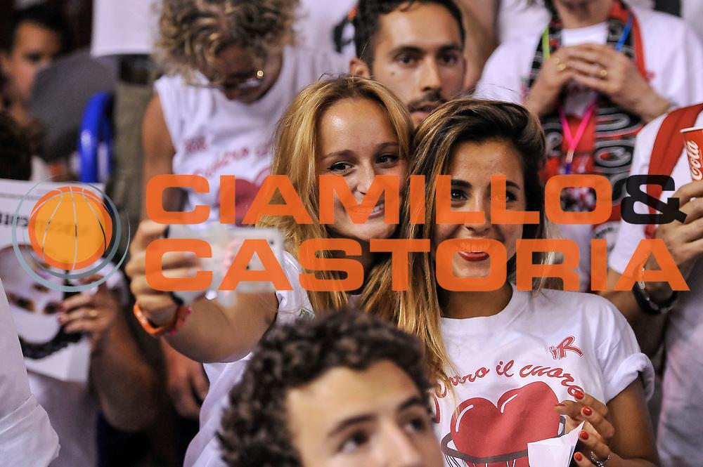 DESCRIZIONE : Campionato 2014/15 Serie A Beko Grissin Bon Reggio Emilia - Dinamo Banco di Sardegna Sassari Finale Playoff Gara7 Scudetto<br /> GIOCATORE : Ultras Arsan<br /> CATEGORIA : Tifosi Pubblico Spettatori Curiosità<br /> SQUADRA : Grissin Bon Reggio Emilia<br /> EVENTO : LegaBasket Serie A Beko 2014/2015<br /> GARA : Grissin Bon Reggio Emilia - Dinamo Banco di Sardegna Sassari Finale Playoff Gara7 Scudetto<br /> DATA : 26/06/2015<br /> SPORT : Pallacanestro <br /> AUTORE : Agenzia Ciamillo-Castoria/L.Canu