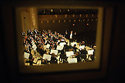 The Cleveland Orchestra performs Suppe, Mozart, Mahler and Strauss at Carnegie Hall in Manhattan, NY. The conductor is Franz Welser-Most. Pianist Leif Ove Andsnes and Soprano Dorothea Roschmann were featured during the performance. 10/4/2006 Photo by Jennifer S. Altman