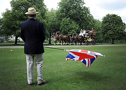 © under license to London News Pictures. WINDSOR, UK  13/05/2011.The Royal Windsor Horse Show in the grounds of Windsor Castle today (13 May 2011). Photo credit should read Stephen Simpson/LNP.