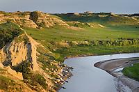 Little Missouri River, Theodore Rossevelt National Park, North Dakota