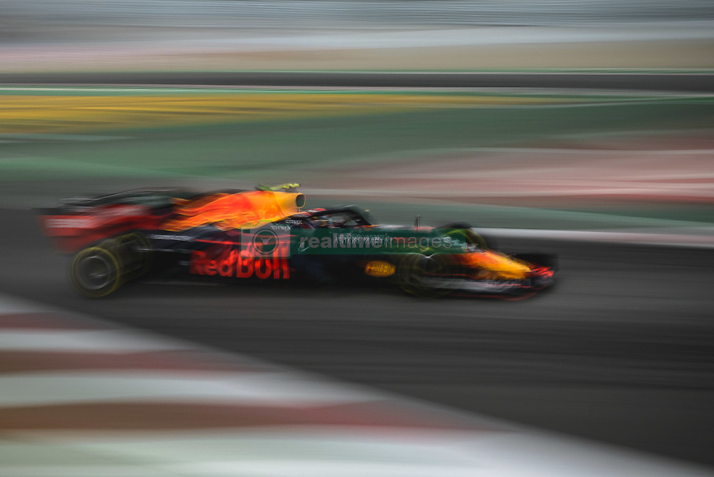 May 11, 2019 - Barcelona, Catalonia, Spain - PIERRE GASLY (FRA) from team Red Bull drives in his RB15 during the third practice session of the Spanish GP at Circuit de Catalunya (Credit Image: © Matthias Oesterle/ZUMA Wire)