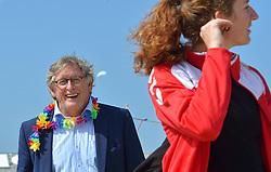 20150627 NED: WK Beachvolleybal day 2, Scheveningen<br /> Nederland heeft er sinds zaterdagmiddag een vermelding in het Guinness World Records bij. Op het zonnige strand van Scheveningen werd het officiële wereldrecord 'grootste beachvolleybaltoernooi ter wereld' verbroken. Maar liefst 2355 beachvolleyballers kwamen zaterdag tegelijkertijd in actie / Frank Overeem