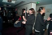 MAT COLLISHAW, Polly Morgan 30th birthday. The Ivy Club. London. 20 January 2010