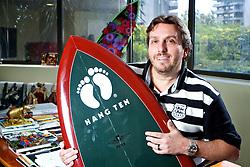 Moacir Galbisnki, sócio da empresa Supermarcas que recentemente adquiriu os direitos de vender Hang Ten no Brasil. FOTO: Jefferson Bernardes/Preview.com