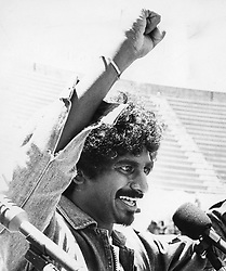 Jay Naidoo: former General Secretary of COSATU and chairman of the Development Bank of Southern Africa. Circa 1980's, 90's, 2000. © Sowetan