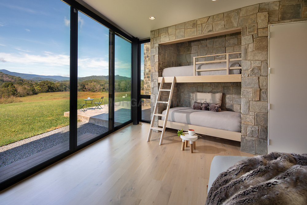 98_Lyle modern home design childrens bedroom with bunk beds VA 2-174-303