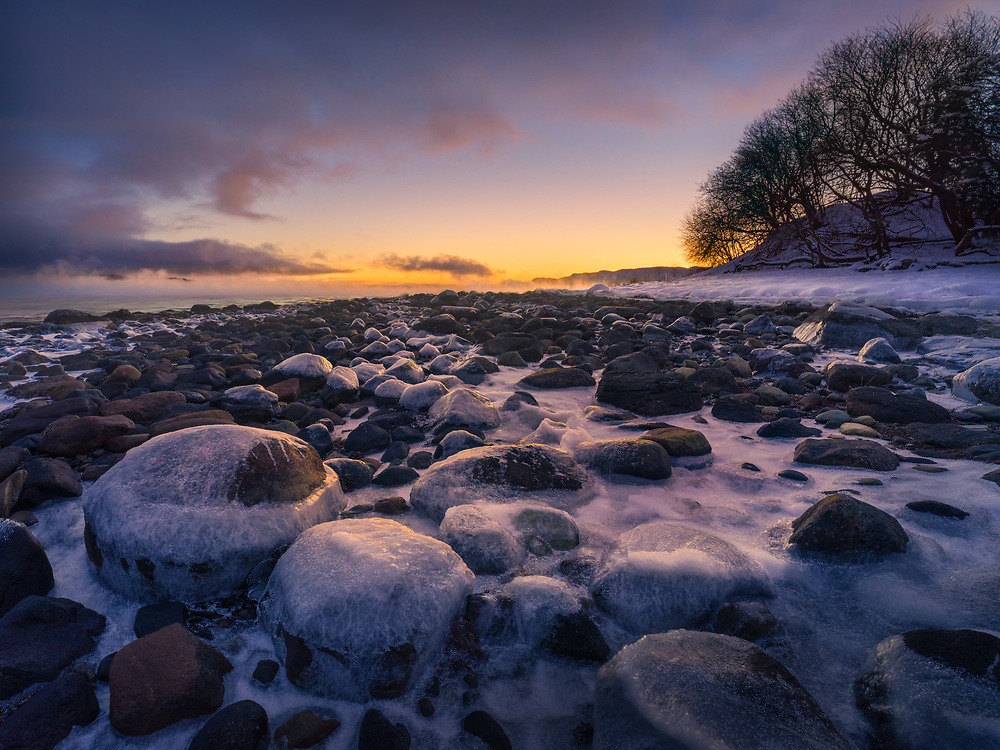 Malvik, Norway. February 2021.