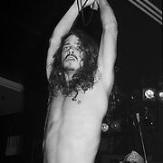 ALLENTOWN AUGUST 19: Chris Cornell of Soundgarden performs on August 19, 1990 in Allentown, Pennsylvania. ©Lisa Lake