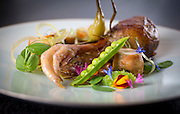 The guinea hen Tuesday, July 29, 2014 at Spiaggia. (Brian Cassella/Chicago Tribune) B583898846Z.1 <br /> ....OUTSIDE TRIBUNE CO.- NO MAGS,  NO SALES, NO INTERNET, NO TV, CHICAGO OUT, NO DIGITAL MANIPULATION...