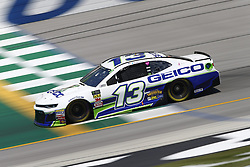 July 13, 2018 - Sparta, Kentucky, United States of America - Ty Dillon (13) brings his race car down the front stretch during practice for the Quaker State 400 at Kentucky Speedway in Sparta, Kentucky. (Credit Image: © Chris Owens Asp Inc/ASP via ZUMA Wire)