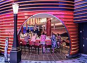 Royal Caribbean, Harmony of the Seas, one of the bar on the Royal Promenade