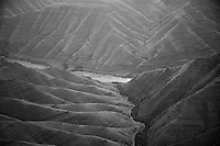 Aerial view of Hell's Canyon of the Snake River, ID / OR. Hell's Canyon is the deepest canyon in North America.