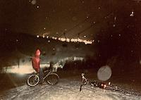 Greg Potvin at Marquette Mountain Ski Area in Marquette, MI, 1988