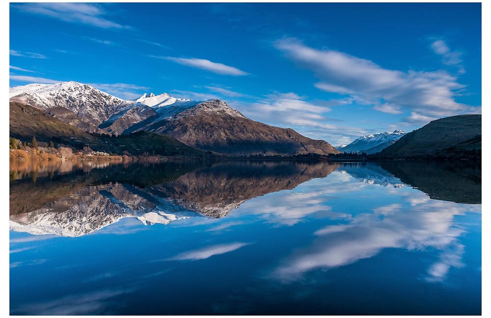 Lake Hayes, Queenstown, Otago.