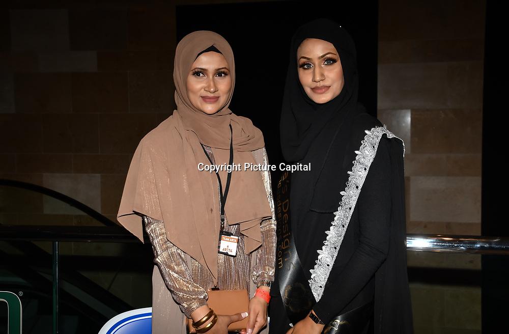 Eniyah Rana of Modest Street Hijabi Makeup Stylist and blogger attend Asian Restaurant & Takeaway Awards | ARTA 2018 at InterContinental London - The O2, London, UK. 30 September 2018.