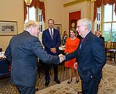 September 22, 2021 - DC: Leader Mitch McConnell Meets Prime Minister Boris Johnson