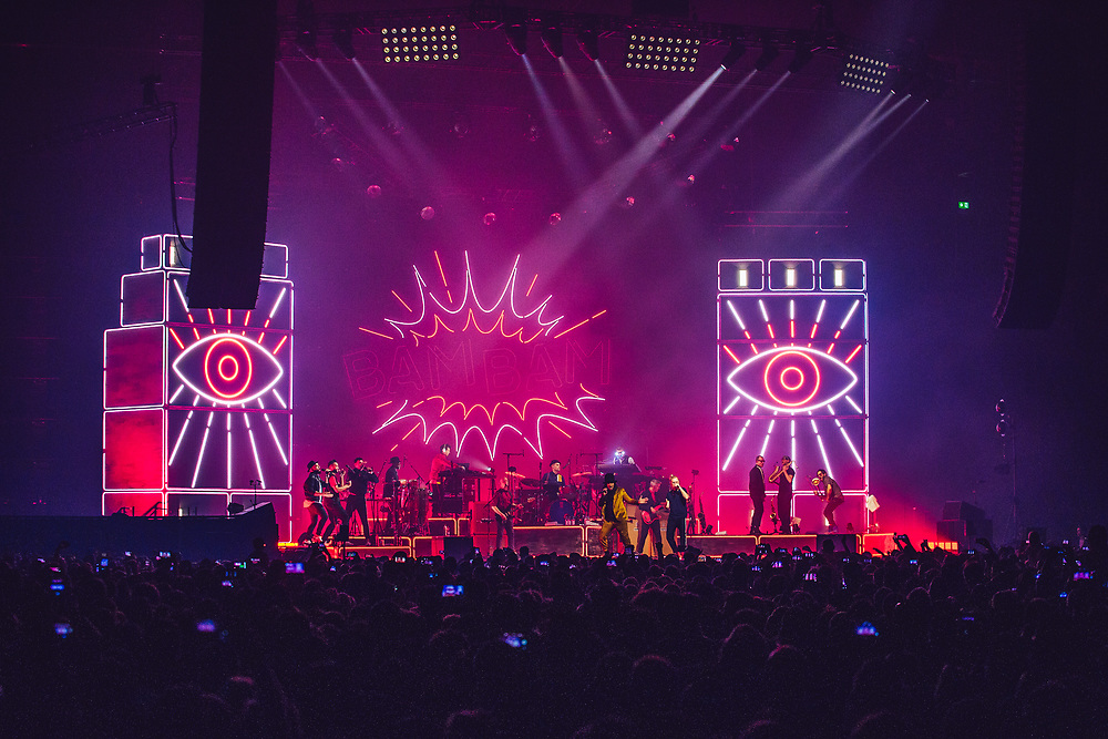 Seeed performing at the Rockhal Luxembourg, Europe on October 25, 2019