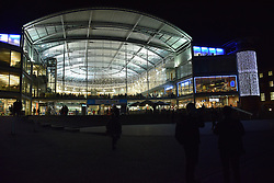 The Forum, Norwich - library, exhibition area & cafes, UK