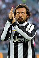 Andrea Pirlo Juventus.Calcio Juventus vs Atalanta.Serie A - Torino 16/12/2012 Juventus Stadium .Football Calcio 2012/2013.Foto Federico Tardito Insidefoto