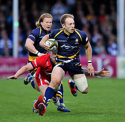 Chris Pennell of Worcester Warriors - Photo mandatory by-line: Patrick Khachfe/JMP - Mobile: 07966 386802 27/05/2015 - SPORT - RUGBY UNION - Worcester - Sixways Stadium - Worcester Warriors v Bristol Rugby - Greene King IPA Championship Play-off Final (Second leg)
