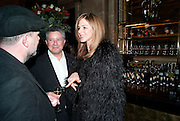 Peter Soros; Trinni Woodall, Criterion Restaurant  celebrates its 135th anniversary. Piccadilly Circus. London. 2 February 2010
