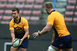 Cape Town-180622 Springbok player Handre Pollard having a practice during the captain's run at Newlands.The team will be facing England in their last test game at Newlines stadium.Photographer:Phando Jikelo/African News Agency/ANA