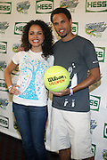 l to r: Susie Castillo and Quddus at the 2009 Arthur Ashe Kids' Day held at The USTA Billie Jean King National Tennis Center on August 29, 2009 in Flushing, NY