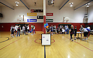 Middletown, New York - Runners sign up for the 15th annual Ruthie Dino Marshall 5K Run and Fun Walk hosted by the Middletown YMCA on Sunday, June 5,  2011.