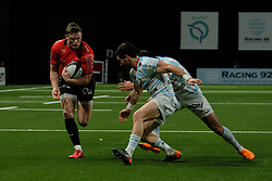 April 8, 2018 - Nanterre, Hauts de Seine, France - RC Toulon Wing CHRIS ASHTON in action during the French rugby championship Top 14 match between Racing 92 and RC Toulon at U Arena Stadium in Nanterre - France..Racing 92 Won  17-13. (Credit Image: © Pierre Stevenin via ZUMA Wire)