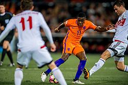 07-10-2016 NED: WK kwalificatie Nederland - Wit-Rusland, Rotterdam<br /> Het Nederlands elftal heeft in De Kuip een 4-1 overwinning op Wit-Rusland geboekt / Quincy Promes scoort de 1-0