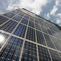 Solar panels as building material in Edinburgh