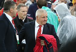British and Irish Lions head coach Warren Gatland after the second test of the 2017 British and Irish Lions tour at Westpac Stadium, Wellington.
