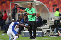Augusto Palacios, Head Coach, of Orlando Pirates during the 2016 Premier Soccer League match between Chippa United and Orlando Pirates held at the Nelson Mandela Bay Stadium in Port Elizabeth, South Africa on the 22th November  2016.<br /> <br /> Photo by:   Richard Huggard / Real Time Images