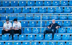 30.07.2017, Das Goldberg Stadion, Groedig,, AUT, Testspiel, Bayer 04 Leverkusen vs Lazio Rom, im Bild Ramazan Oezcan (Bayer04 Leverkusen), Stefan Kiessling (Bayer04 Leverkusen), Sportdirektor Rudi Voeller (Bayer04 Leverkusen) // during the Friendly Football Match between Bayer 04 Leverkusen and Lazio Roma at the Das Goldberg Stadion, Groedig,, Austria on 2017/07/30. EXPA Pictures © 2017, PhotoCredit: EXPA/ JFK